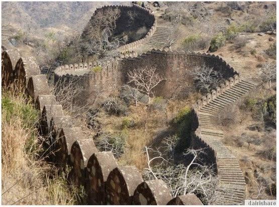 Ramai Yang Tidak Tahu Di India Juga Ada Tembok Besar Seperti Di China