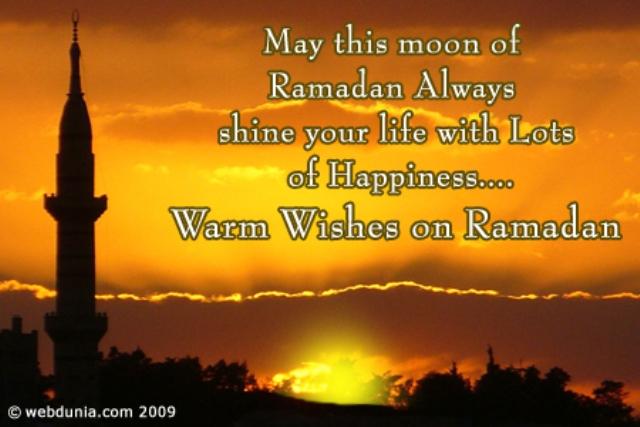 Kata Ucapan Selamat Puasa Ramadhan dalam Bahasa Inggris
