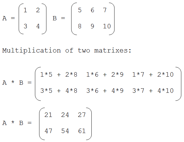 c programming interview questions and answers multiplication of two matrices using c program. Black Bedroom Furniture Sets. Home Design Ideas