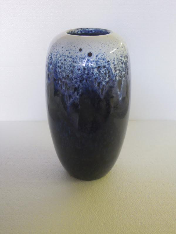 Ceramica come mestiere vaso blu e bianco for Vaso blu
