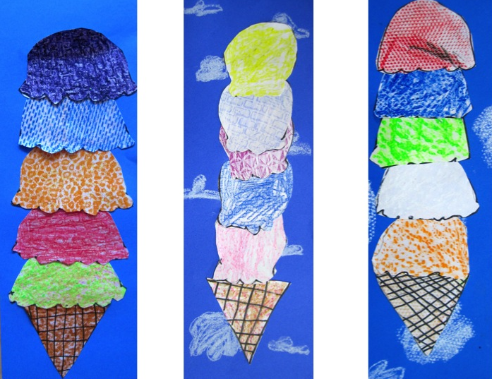 Princess Artypants: Visual Arts in the PYP: Textured Ice ...