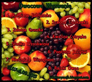 owocowe wyzwanie - tydzień 2