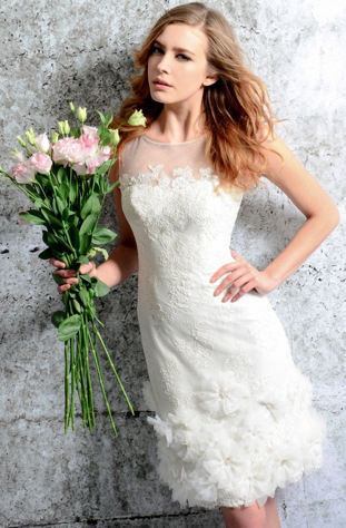 http://www.zillabridescouture.com/Sheer_Straps_Lace_Flowers_Short_Wedding_Dress_p/allis402.htm