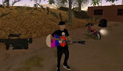Mod Guitar Pelangi