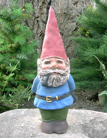 well dani and i wanted to make our own halloween costumes this year so we chose none other than the spooky arden gnome and heres how we did it