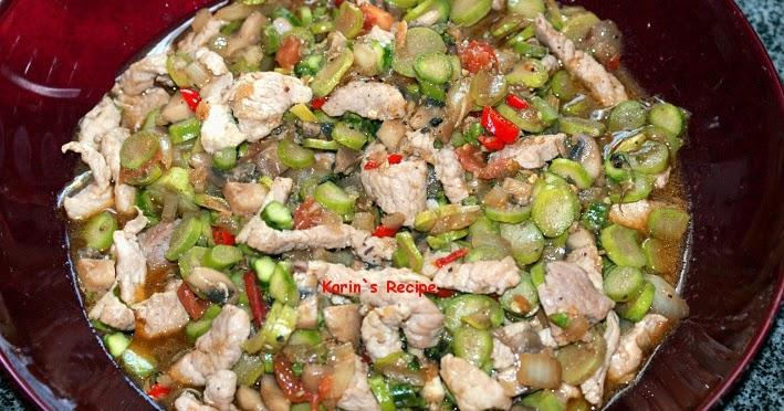 Resep Tumis Asparagus Hijau Indonesian Recipes Food