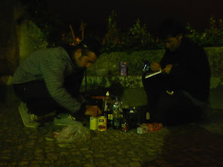 dinner, night, sintra, san martinho