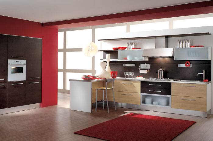 Italian kitchen design minimalist modern style luxury for Italian modern kitchen design
