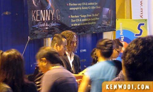 kenny g concert