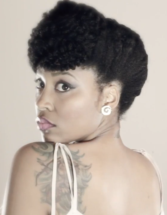 DIY Natural Hair Care: Natural Hairstyles | Valentines Day Updo Pictures and Tutorials