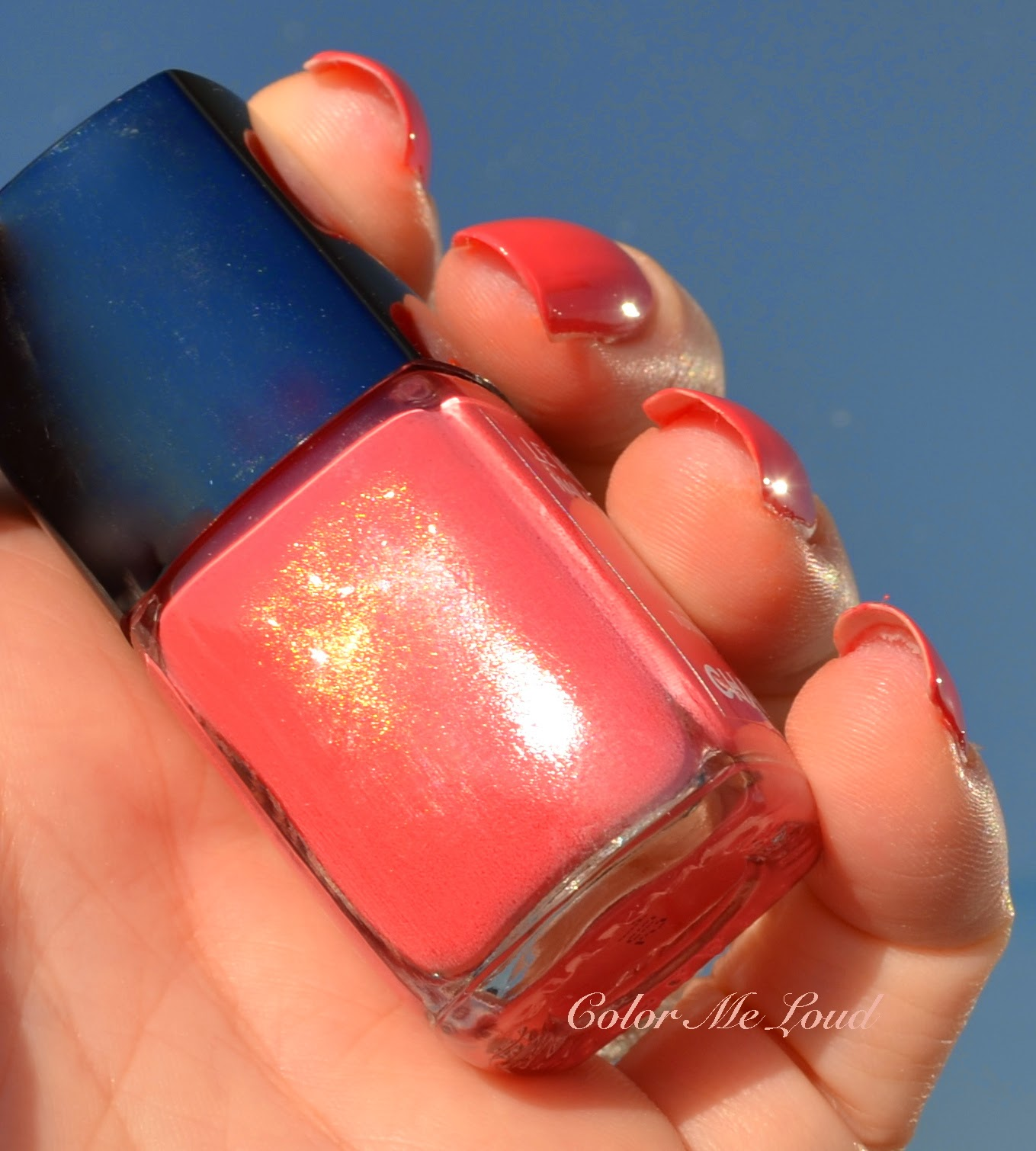 Below I Photographed It In The Bottle Since Is Easier For Camera To Pick Up On Nails Tutti Frutti A Complex Shade But Shimmer Almost