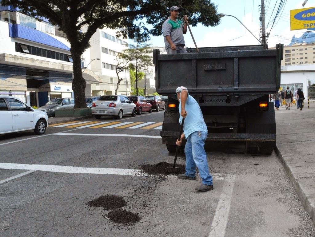 Operação Tapa-buracos Av. Feliciano Sodré, Várzea