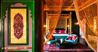 bedroom, Taj Palace Hotal, Marrakech
