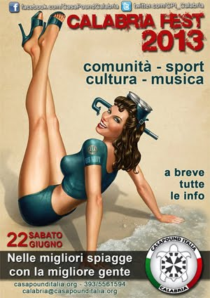 calabria fest 2013 - la festa di casapound