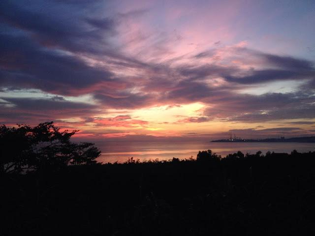 poszukujacraju.pl zachód słońca z Filipin