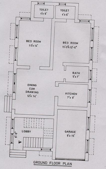 Mezzanine Floor Elevation : Awesome home design with plans small apartment plan