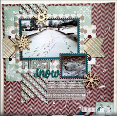 January Featured Layout Scrapper!