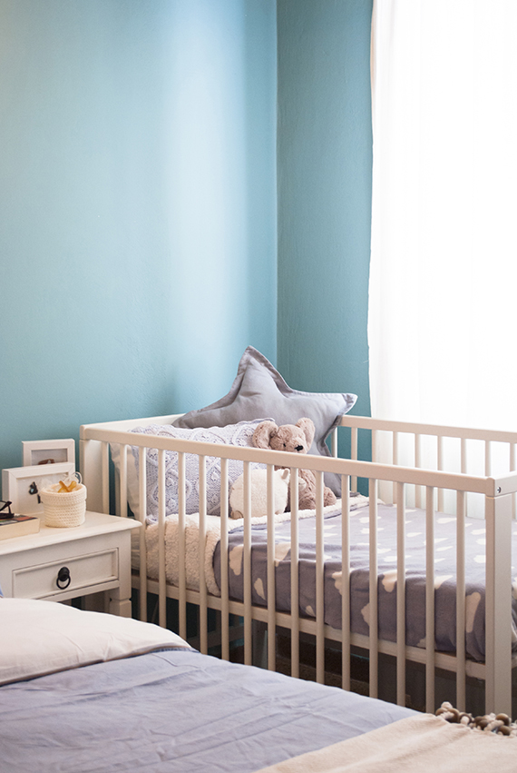Bedroom decor to accommodate a baby boy | My paradissi ©Eleni Psyllaki