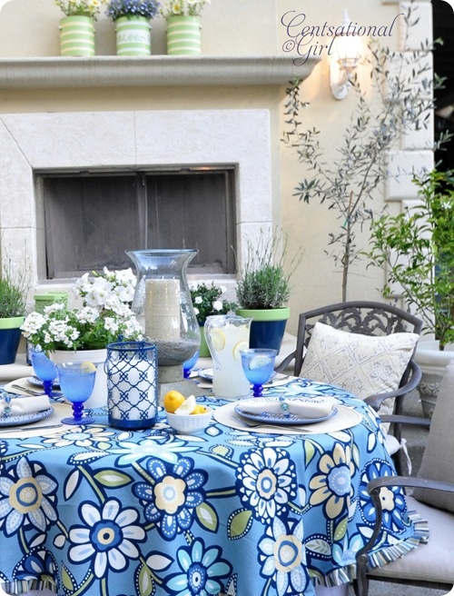 Setting the perfect summer table.....and a tabletop giveaway! ~ Home ...