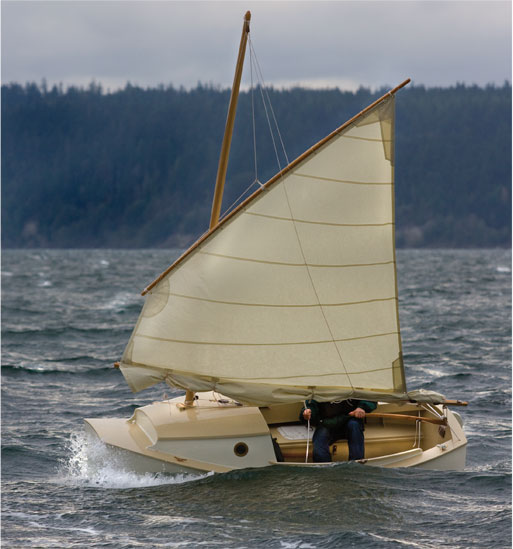 Bills Log  Scamp     Micro sailboat