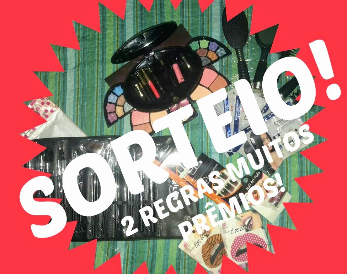SORTEIO RUMO AOS 2000 SGUIDORES DO BLOG FOFOCAS DE BELEZA!