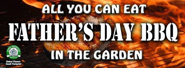 Father's Day BBQ in the Garden & Belgium Beers   Sunday June 21st, 2015, 12 noon to 6pm