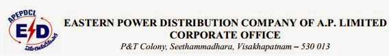 APEPDCLAndhra Pradesh Eastern Power Distribution Company Limited