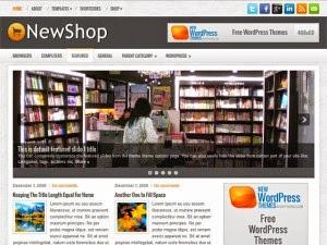 NewShop - Free Wordpress Theme