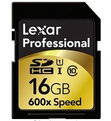 Buy Lexar 16GB SDHC 600X 90MB/S Class 10 High Speed Memory Card at Rs.899 : Buy To Earn