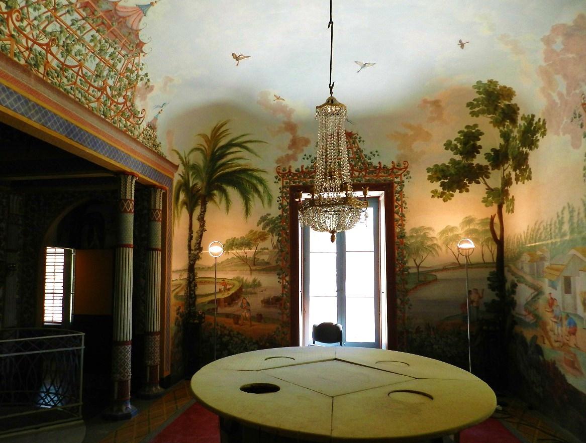 Altra Immagine Della Sala Da Pranzo Con La Tavola Matematica  #6A451C 1166 882 Sala Da Pranzo Poliform
