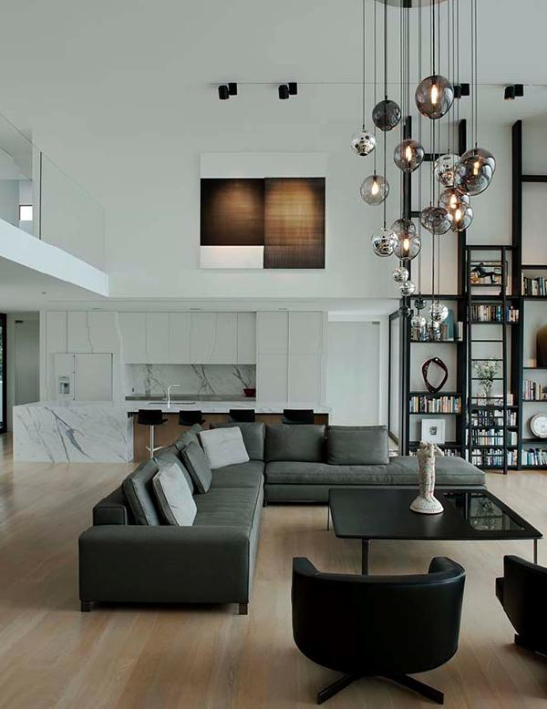 Pics of Living Room with High Ceiling