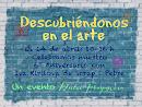 Evento DF: Descubriéndonos en el arte