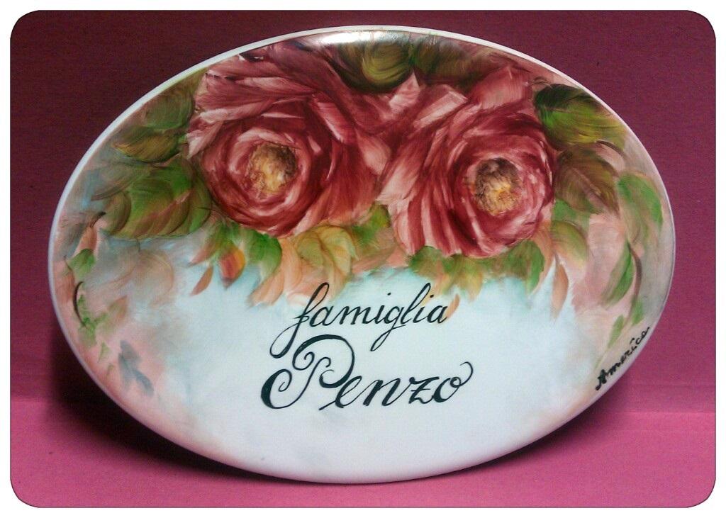 Targhette In Ceramica Per Porte.Le Ceramiche Del Lunedi Targhe Per Porte