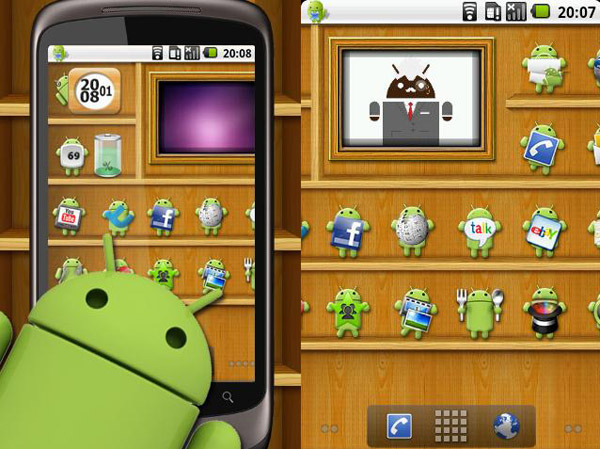 Android 2.2, I.e. Froyo, Galaxy S Live Wallpaper, The Live Wallpapers Feature