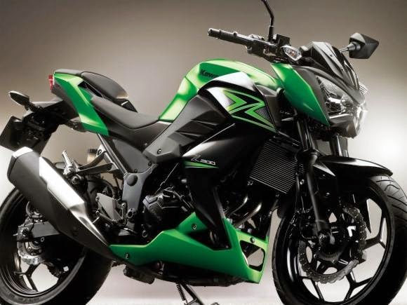 Kawasaki Z 300 Naked Bike