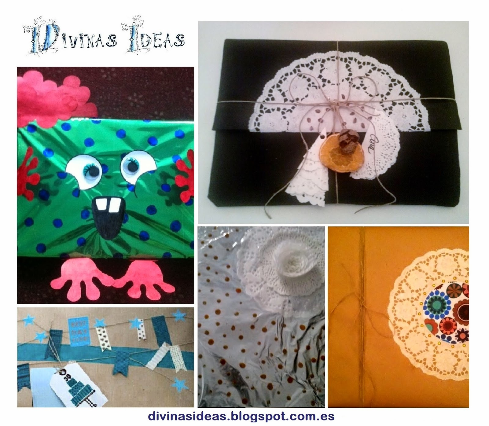 Divinas ideas paquetes para regalo decorados - Paquetes de regalo ...