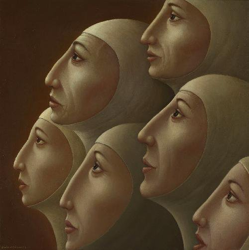 George Underwood 1947 | British Surrealist painter