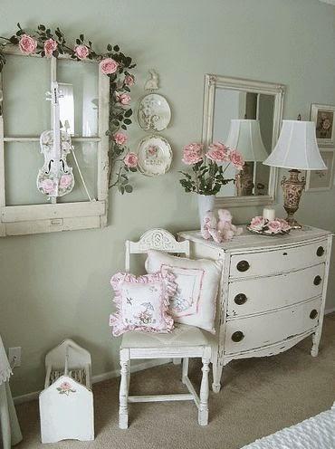 Arredamento stile shabby chic arredare interni ed esterni della casa camera da letto shabby chic - La casa shabby chic ...