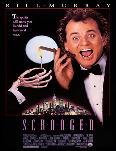 Ver Los fantasmas contraatacan (Scrooged) (1988) Online