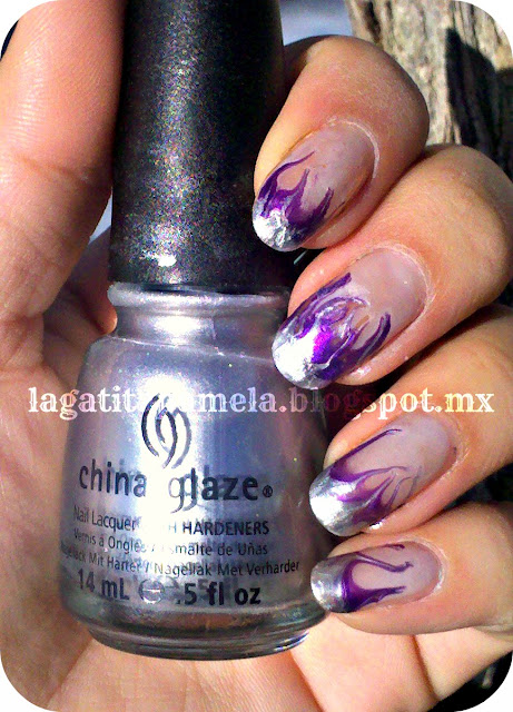 no-water-marble-flame-nails