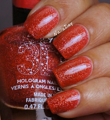 NailaDay: L.A. Girls 3D Effects Dazzling Pink