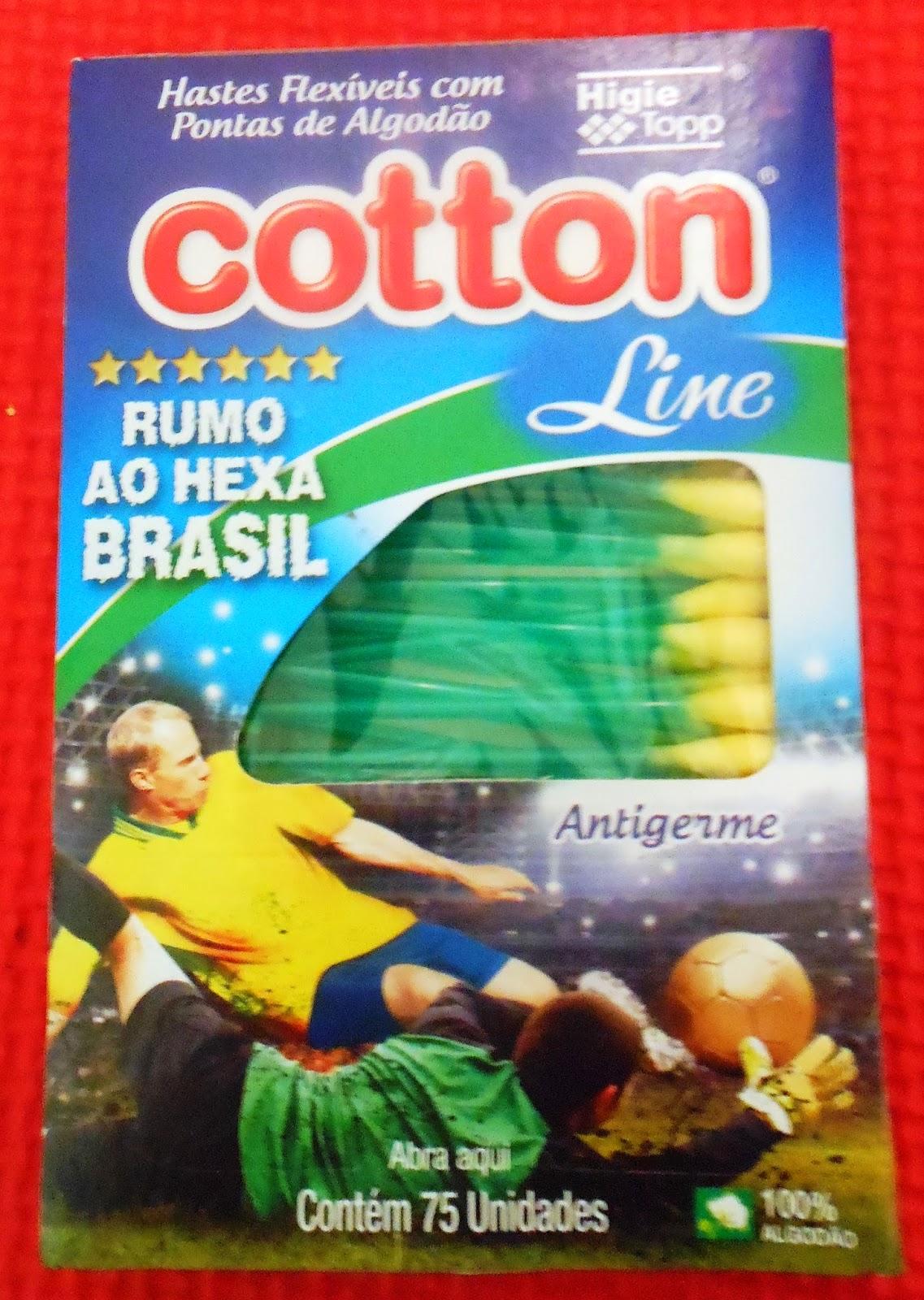hastes flexíveis cotton line rumo ao hexa