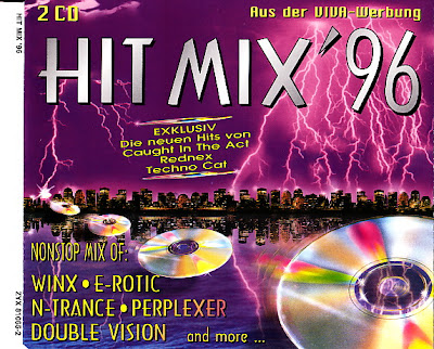 HIT MIX \'96  (2CD Set) 41 original artists non-stop mix (Album) 1996 Eurodance Hi-NRG Italo Disco Eurobeat 90\'s House \