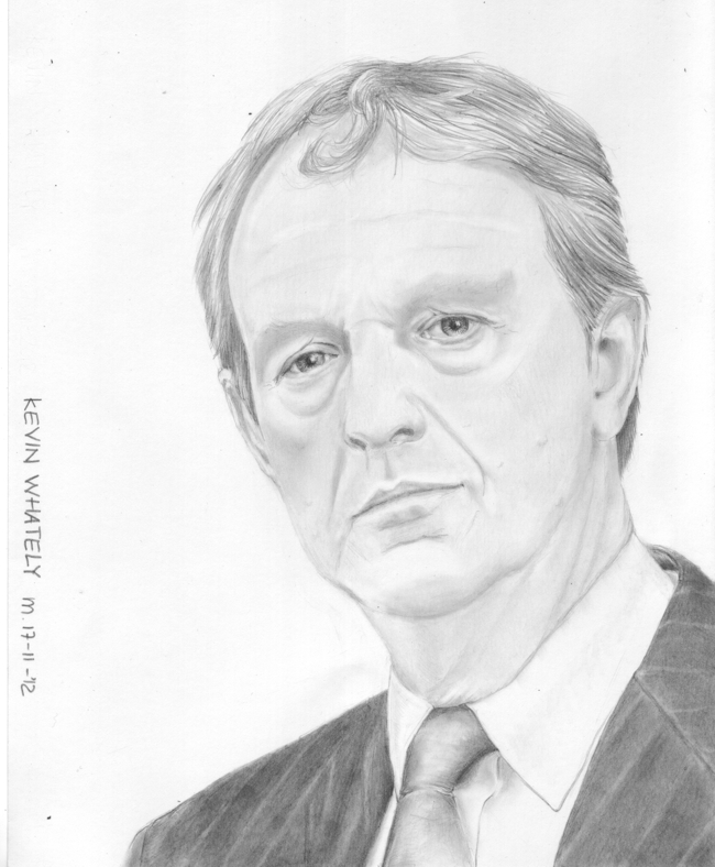kevin whately as inspector lewis in the detective series lewis