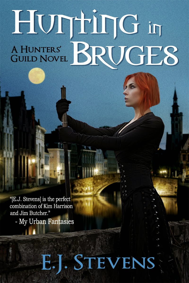 Bookish Playlist Hunting in Bruges by E.J. Stevens Urban Fantasy