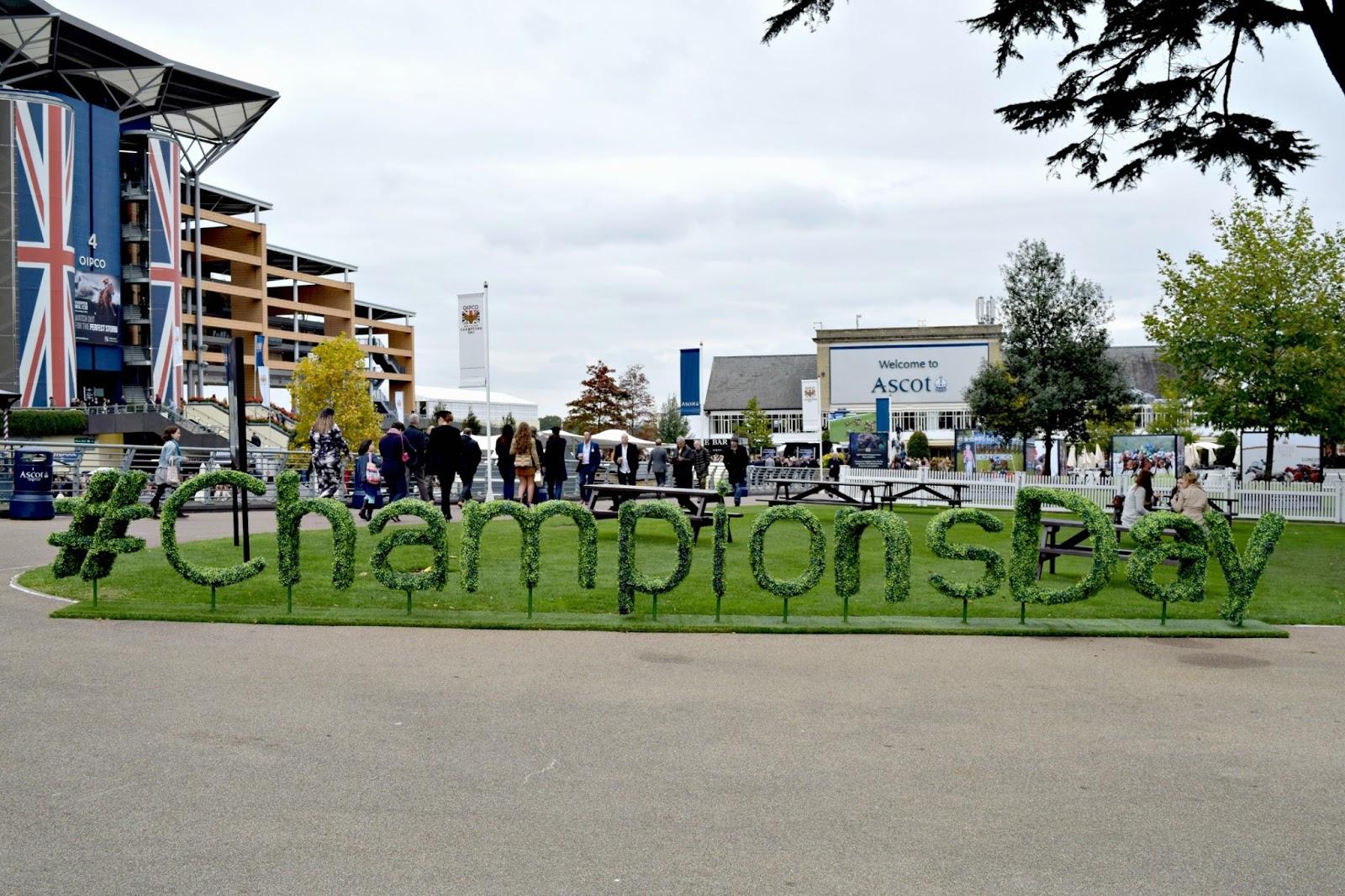 Champions Day at Ascot