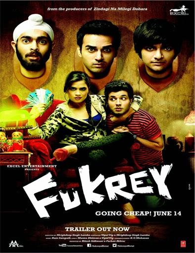 Ver Fukrey (2013) Online