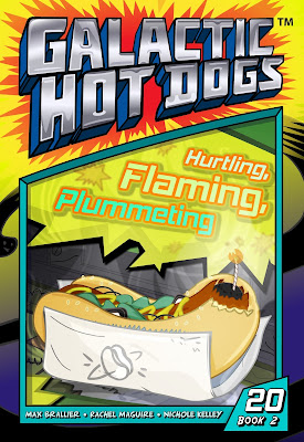 Galactic Hot Dogs: Book Two - Chapter 20 - Hurtling, Flaming, Plummeting