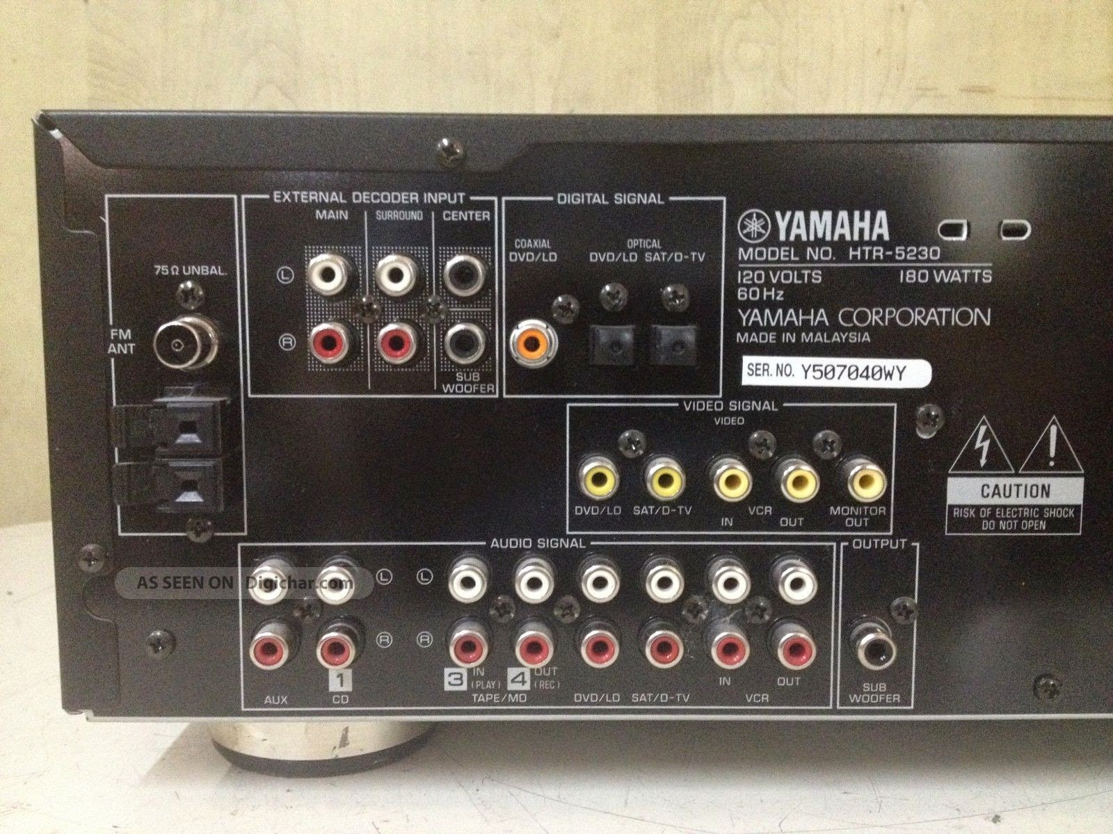 Yamaha Htr Remote