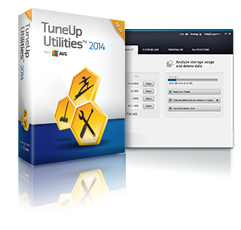 TuneUp Utilities 2014 is a collection of tools for cleaning up, optimising, repairing, customising, and normally finding the maximum possible efficiency from your Pc